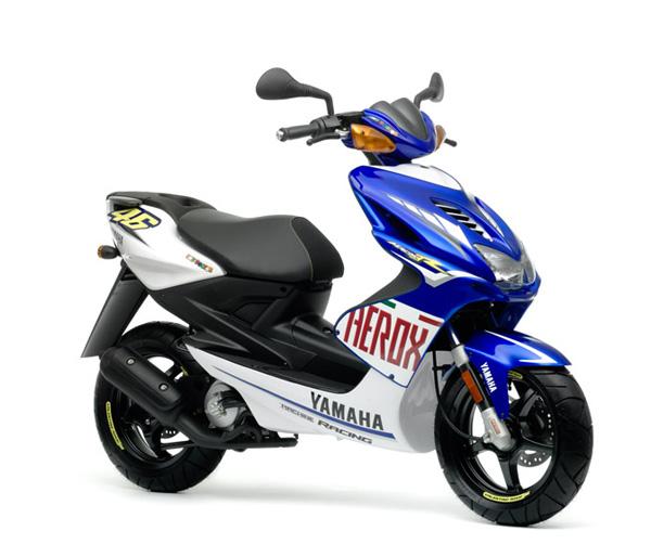 Схема скутера Ямаха Aerox