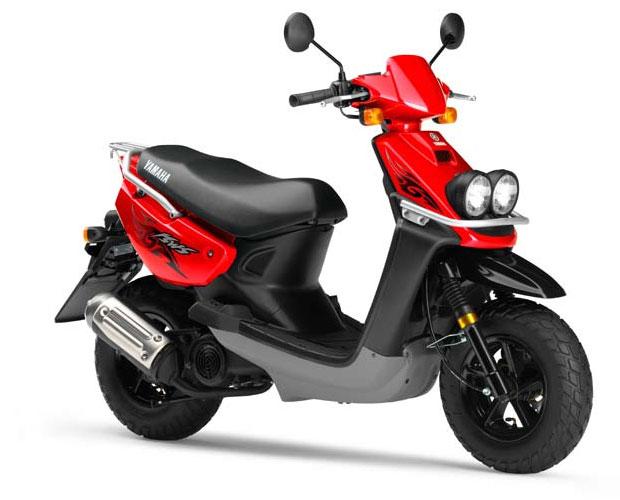 Схема скутера Yamaha BWs