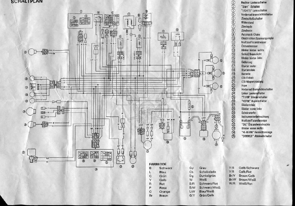Схема скутеров MBK Fizz 50