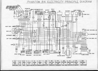 электрическая схема мопеда alpha