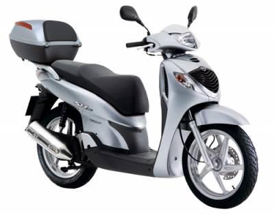 Схема электрооборудования скутеров Honda SH150