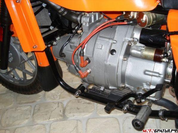 Двигатель мотоцикла Днепр МТ-8