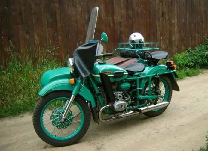 Мотоцикл Урал м 67 схема