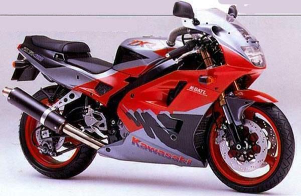 Две схемы для ремонта мотоцикла kawasaki с
