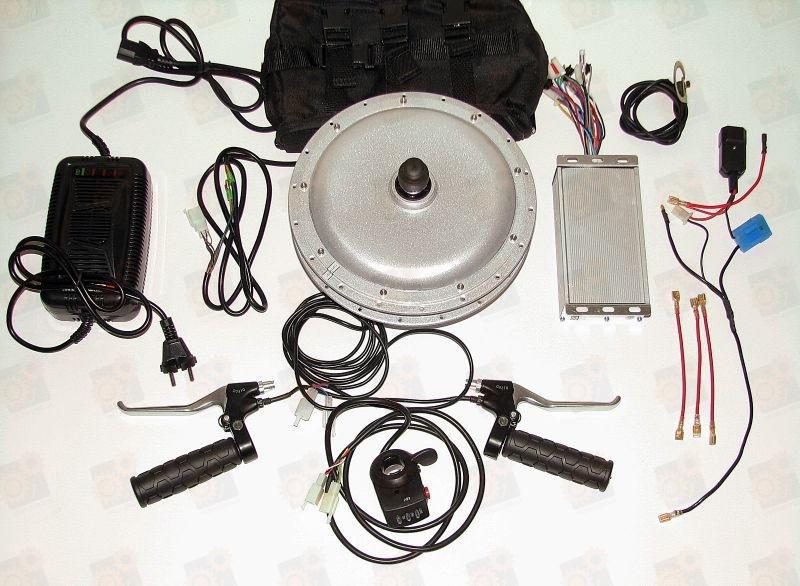 электровелосипеда схема