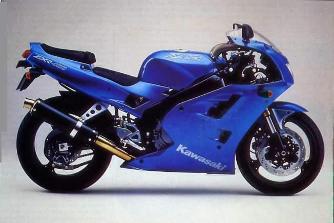 Схема мотоцикла Kawasaki ZXR-