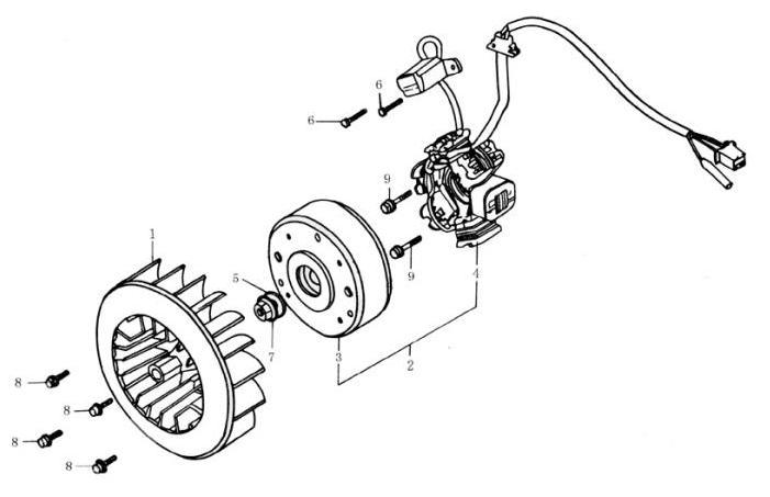 Ремонт двигателя скутера